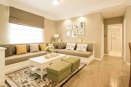 三居.绝佳视野4星级公寓,富龙滑雪场对面,客厅开放式厨房含吧台适合聚会 - 张家口市