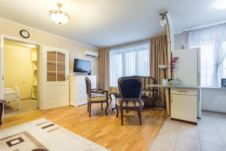 Apartments on Oktyabrskaya Contactless check-out / check-in