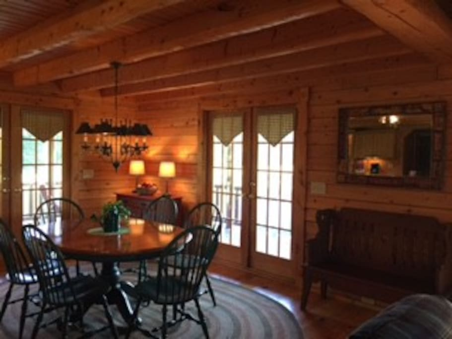 Cozy dining area!
