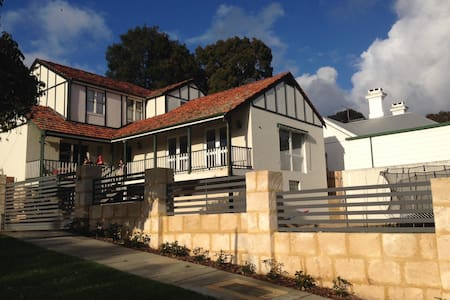 Elevated double storey home in ideal location - Swanbourne