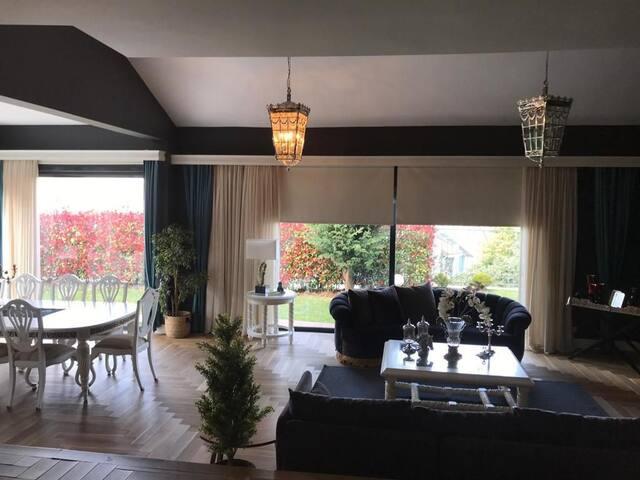 Luxury villa 7+2  n zekeryakoy w pool& sauna