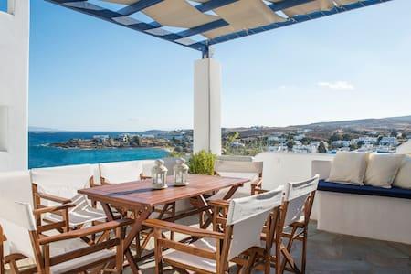 Dionysus | 2 Bedroom Family Home, Sea View & Patio