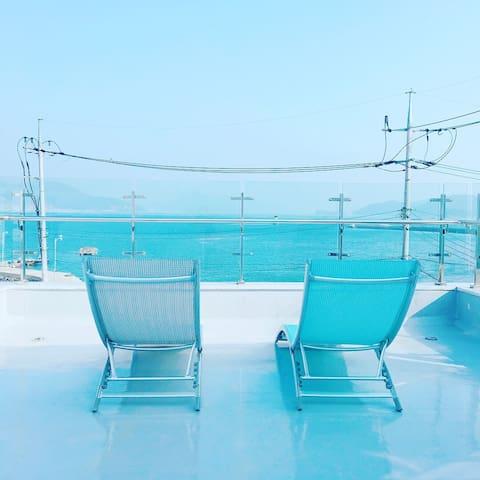 오션뷰 별장독채(#바다집) private vila with ocean-view