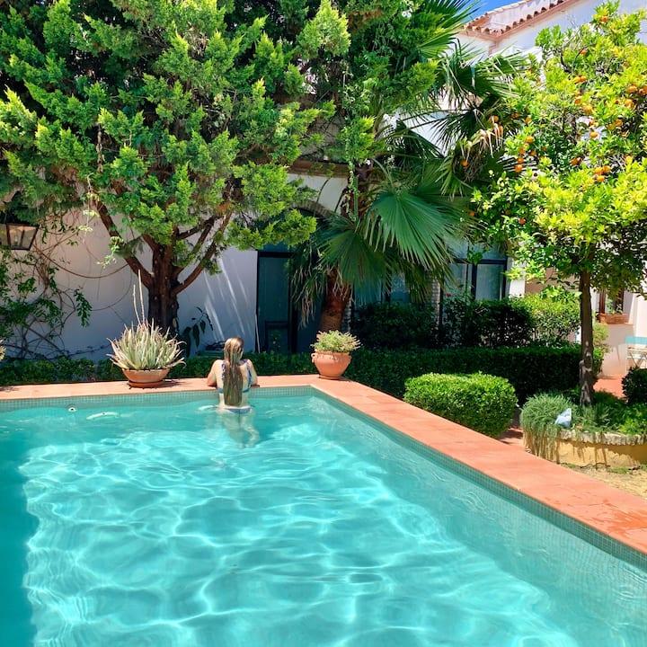 Frente a la Mezquita de Córdoba, piscina , wifi