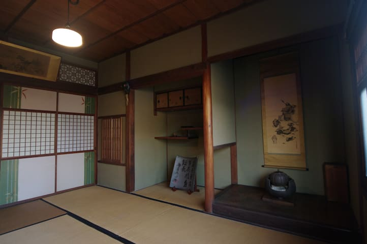 Traditional Townhouse 98 years old - Nara - บ้าน