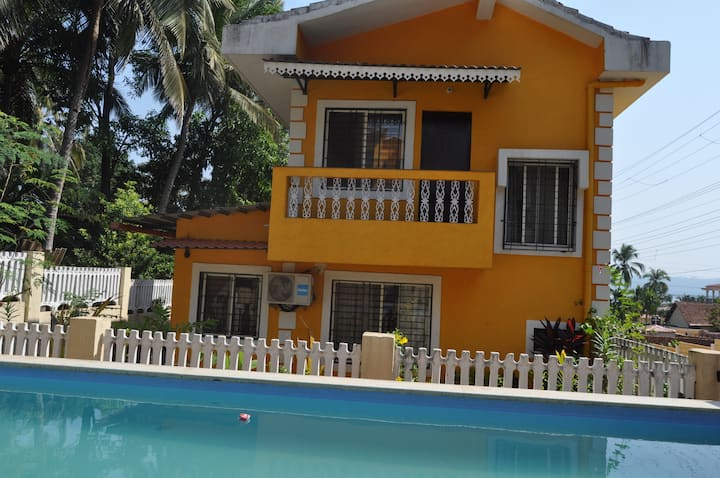 3BHK villa with Swimming Pool in Goa