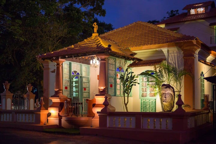 Double Room at Heritage Boutique near Calangute