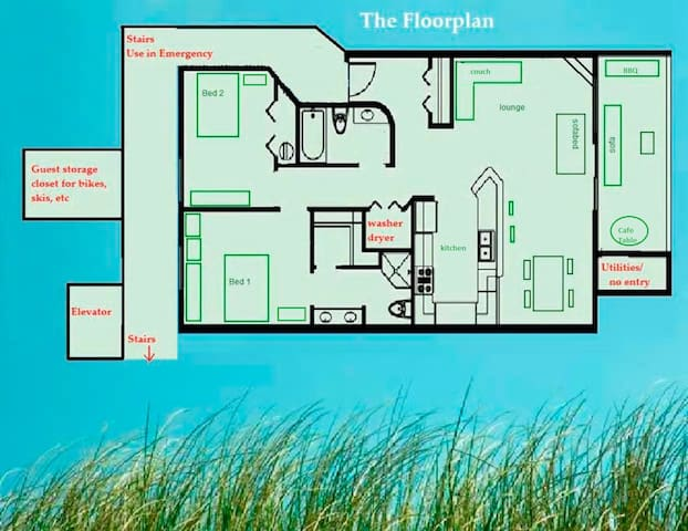 Floorplan - 1000' of awesome