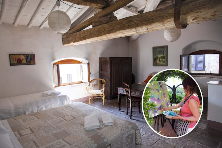 Artists' Paradise, The Duccio Apartment