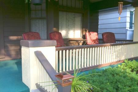 Prairie Foursquare 3BR Home w/ porch, keypad entry
