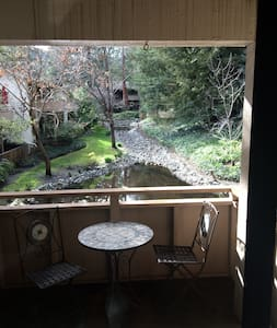 Beautiful Saratoga Condo 2 minute walk to Village - Σπίτι