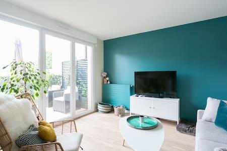 Bel appartement T2 ensoleillé à Antony avec jardin - Antony - อพาร์ทเมนท์