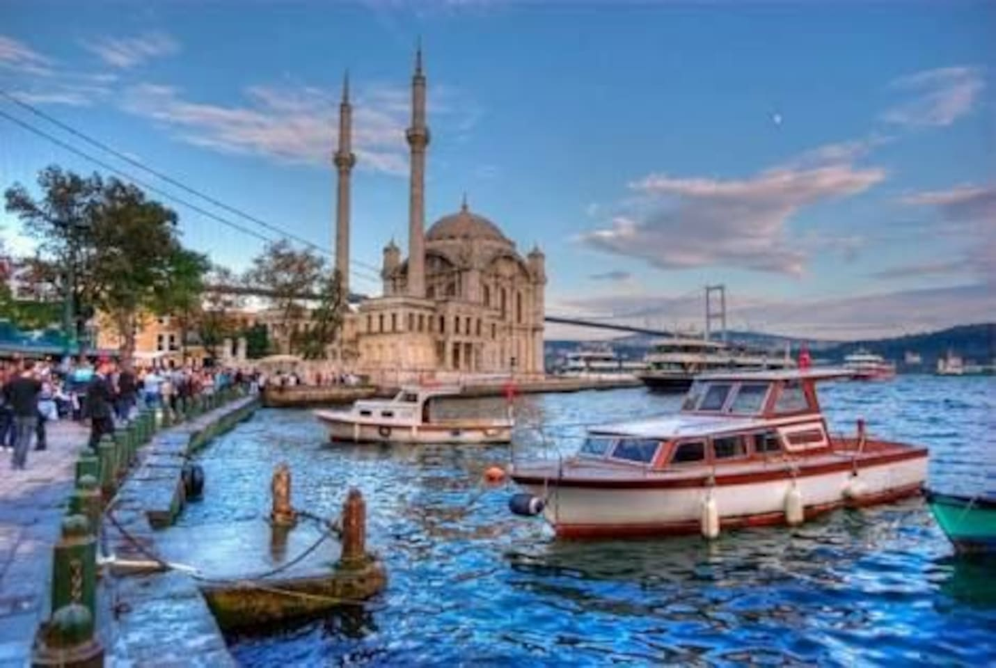 Only 5 minutes walking distance to Ortaköy Square