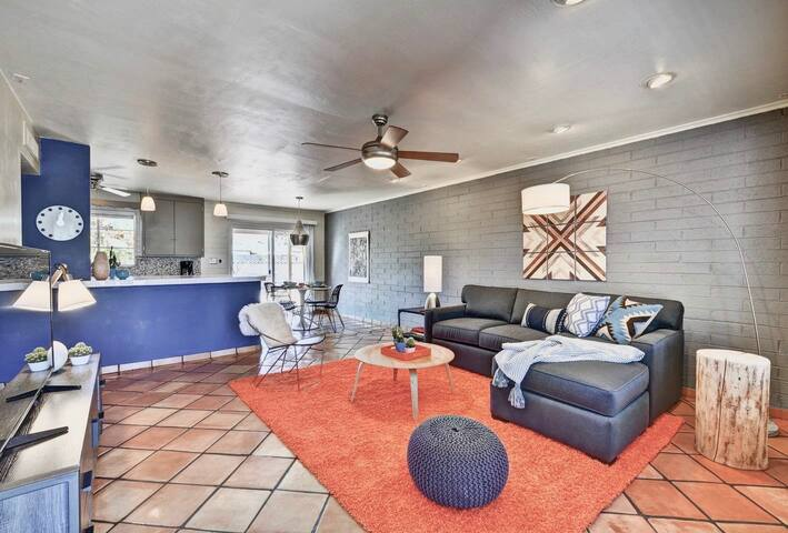Modern 3BR in Central Scottsdale by WanderJaunt