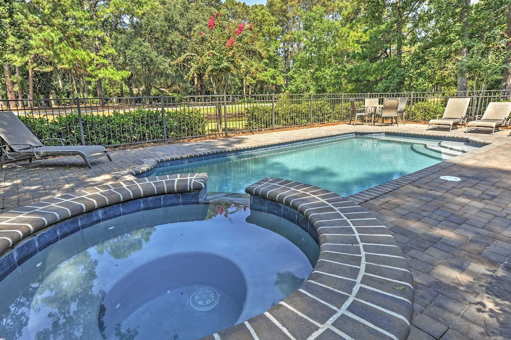 Look forward to restful days by the private pool and spa.