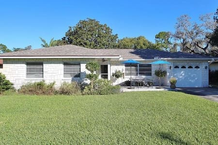 Bright Cottage next to Sunset Beach - Tarpon Springs - Hus
