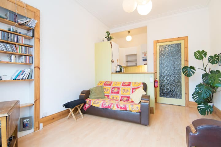 Bright, homely natural flat.. - Glasgow - Apartamento