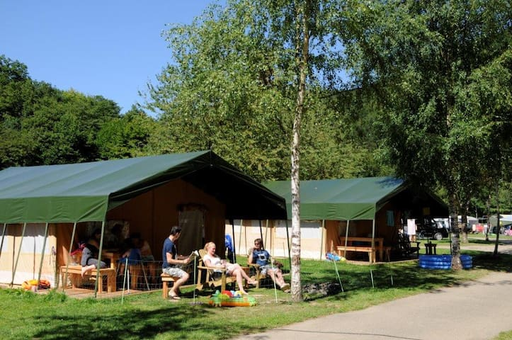 Safarizelt XL für max. 6 Personen - Kautenbach - Tent