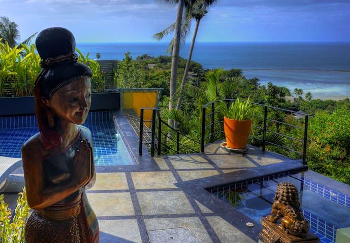 Magnificent Ocean View 1 Bed Villa, Gym & Free Car