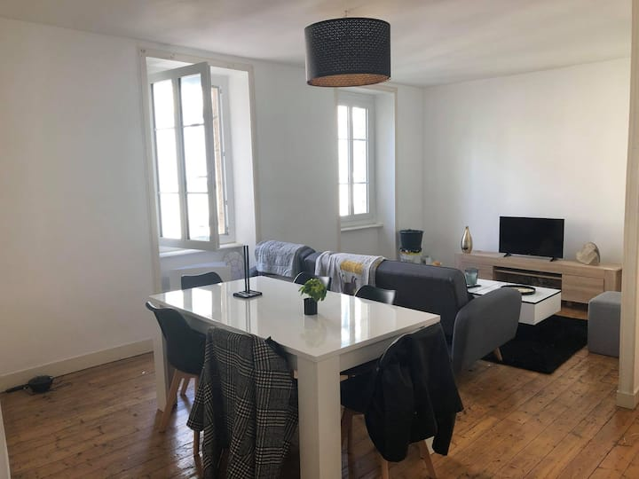 Appartement plein centre