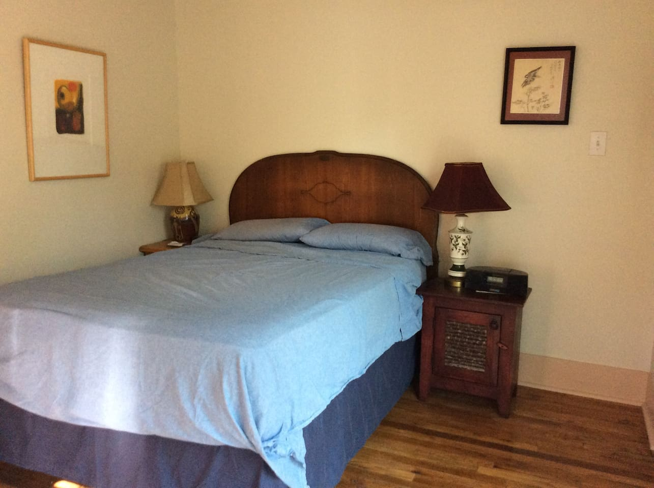 Pillow top full double bed