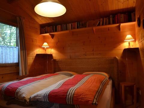 Ferienhaus am Campingweg (Rotenburg a. d. Fulda) -, Ferienhaus, 29 qm, 1 Schlafzimmer, Veranda mit Sitzmöglichkeit, max. 3 Personen