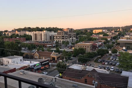 Luxury apt right on Dickson with parking and view! - Fayetteville - Apartment