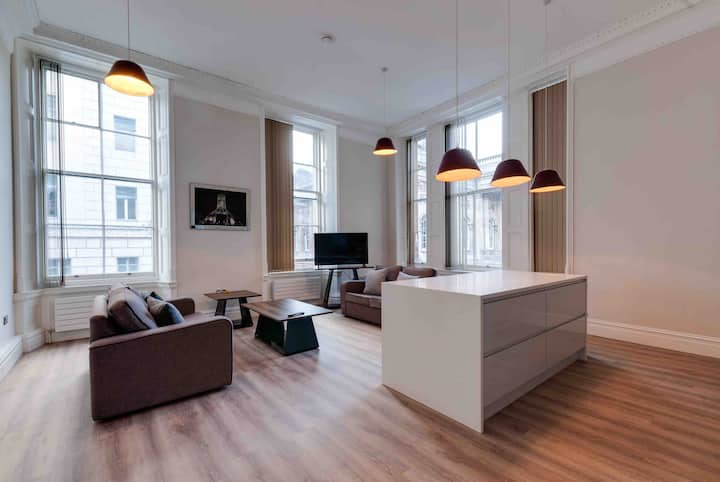 Liverpool  Water Street deluxe apartment