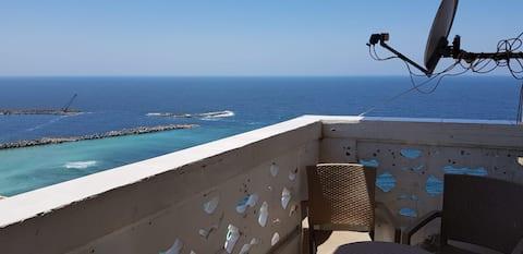 lujosa unidad completa en el emblemático Hilton con vista a la playa del CBD