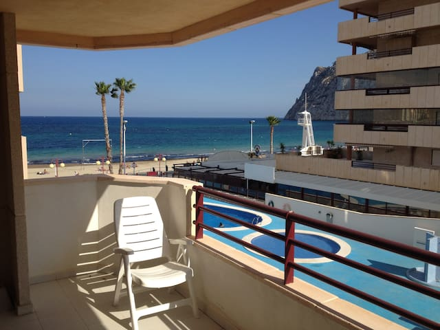 Apartamento en Calpe, Alicante. Playa de Levante