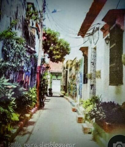 Hostal Pasaje Marruecos  Getsemani Cartagena - Cartagena de Indias  - Dorm