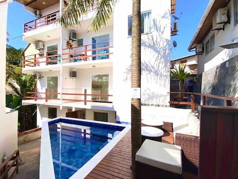Flats MorrodeSP-Loft-40m Praia & Vila