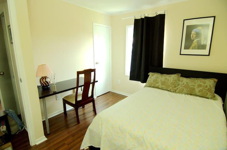 Private Room ,Free Parking ,Cozy New Home In DC-12