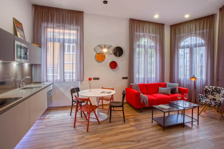 Urban Suite. Amplio apartamento de lujo