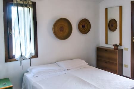Room, private Bathroom & Terrace, beach 100mt far