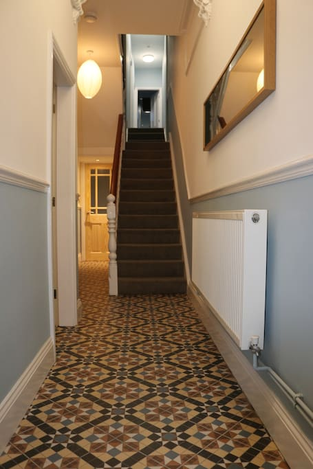 Entrance Hall with tiled floor