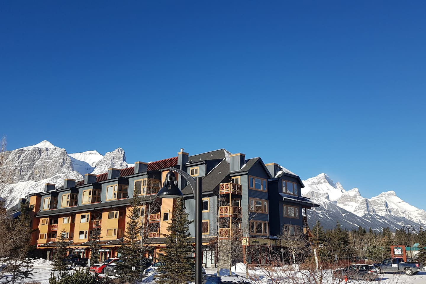 Canmore Crossing has the best location downtown with everything steps away.