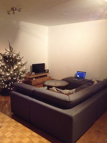 Guestroom in spacious apt to share in city center - Bruixes
