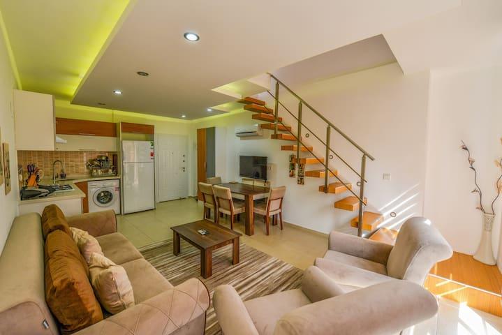 Pınara Residence  1 bedroom Apartment in Oludeniz