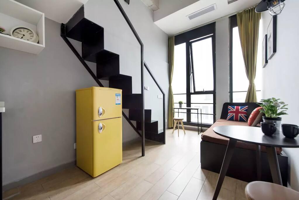 单独的公寓房间