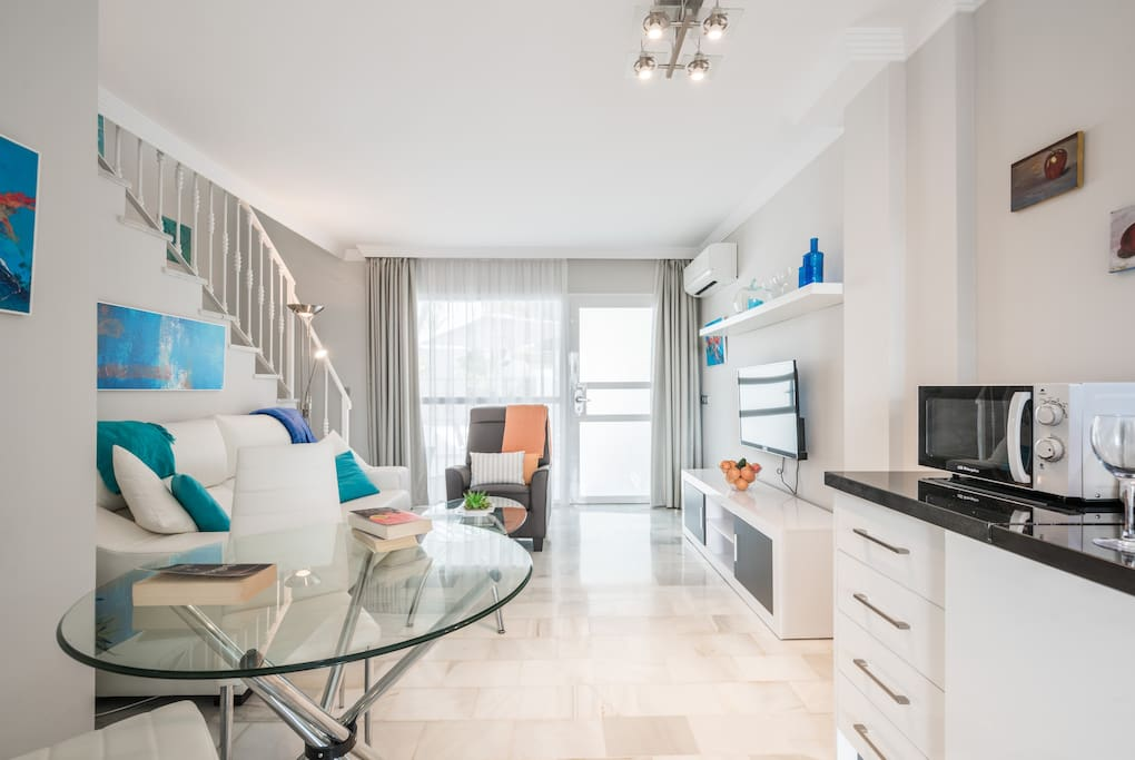 Modern and clean interiors