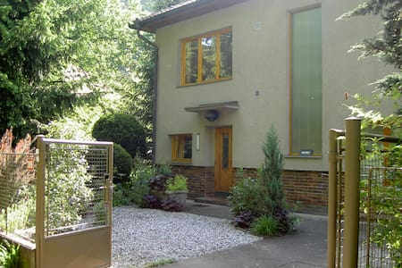 Tranquil apartment with pool close to Prague - Zadní Třebaň