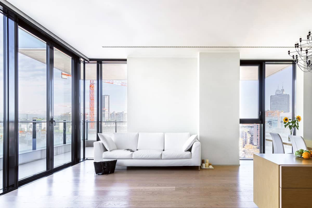 View Milan from the Terrace of this Stylish Space