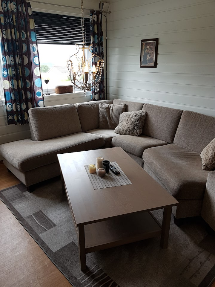 Small apartment close to Molde and Atlantic Road