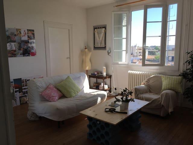 Appartement lumineux proche Piscine Judaïque - Bordeaux - Wohnung