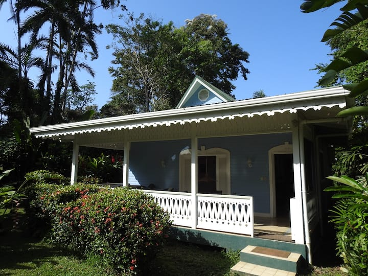 Blue Cottage 50 meters from the beach