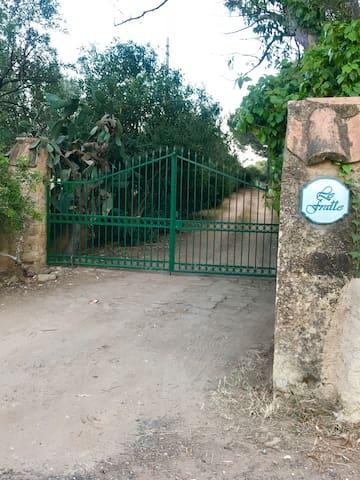 Cancello d'ingresso al villaggio