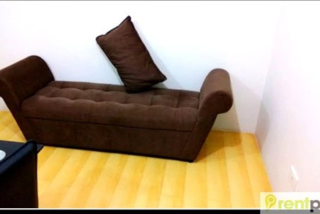 Comfy sofa in the living room