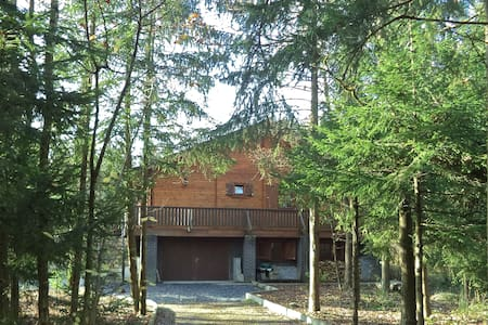 Chalet in the forest in the Ardenne - Erezée