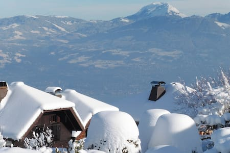 Chalet with a lot of charme and amazing view - Thollon-les-Mémises